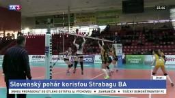 Do finále Slovenského pohára volejbalistiek sa prvý raz nedostali hráčky Slávie