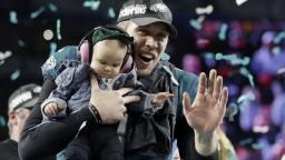 Fotogaléria: Super Bowl ovládli podceňovaní Orli, zdolali favorita