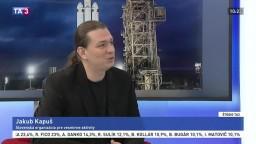 ŠTÚDIO TA3: J. Kapuš o najväčšej rakete súčasnosti Falcon Heavy