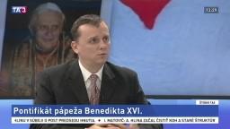 ŠTÚDIO TA3: Ľ. Malík o emeritnom pápežovi Benediktovi XVI.