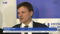 TB A. Hlinu v reakcii na vyhlásenie poslanca R. Vašečku
