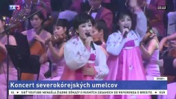 Aký bol predolympijský koncert orchestra z KĽDR? Umelci mali úspech