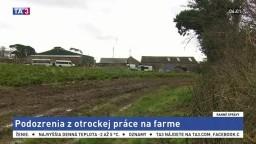 Počas razie na farme zatkli mužov, ktorí sú podozriví z otrokárstva
