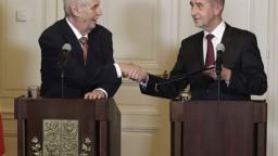 Babiš sa ocitol v patovej situácii, Zeman stále verí v zostavenie vlády