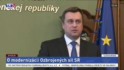 TB A. Danka o modernizácii Ozbrojených síl Slovenskej republiky
