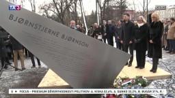 V Košiciach odhalili pamätník venovaný nositeľovi Nobelovej ceny