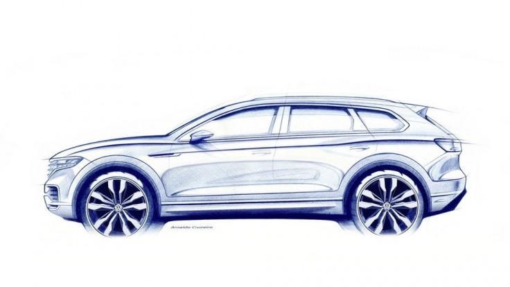 Volkswagen zverejnil kresbu nového Touaregu. Bude luxusnejší