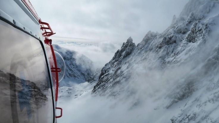 V Tatrách ratovali Poliakov, s masou snehu padali desiatky metrov