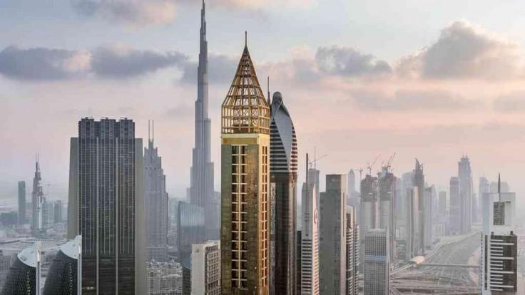 Nový najvyšší hotel sveta v Dubaji otvorili prvým návštevníkom