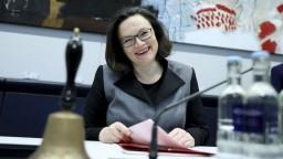 V čele nemeckej SPD má byť prvýkrát žena, má však konkurenciu