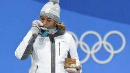 Kuzminová si prevzala medailu, odovzdávala ju Slovenka