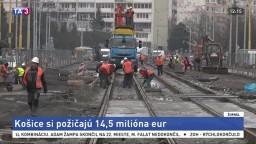 Košice si požičajú milióny, aby dokončili električkové trate