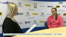 Tenistka J. Čepelová o budúcich zápasoch v Bielorusku