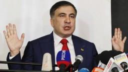 Saakašvili sa chce napriek deportácii vrátiť na Ukrajinu