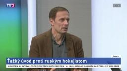 HOSŤ V ŠTÚDIU: Ľ. Pokovič o hokejovom súboji Slovenska a Ruska na ZOH