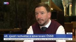 Politológ J. Kubáček o 40. zjazde ČSSD a smerovaní strany