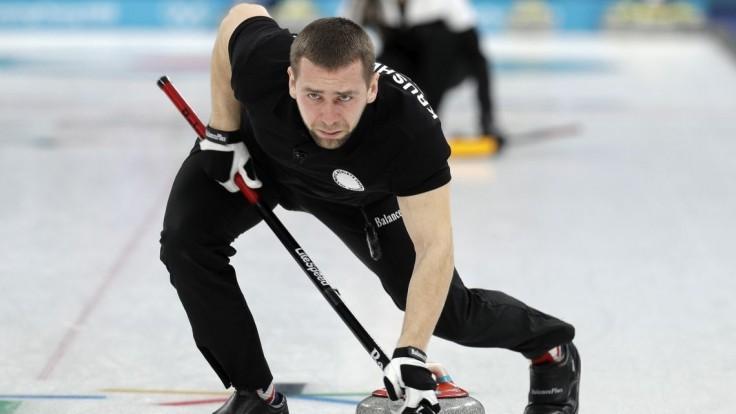 Ruský hráč curlingu dopoval. Nález Krušelnickému potvrdila aj B-vzorka