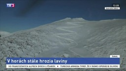 Chystáte sa na hory? V Tatrách stále hrozia lavíny