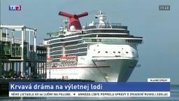 Krviprelievanie na výletnej lodi, bitkári surovo napadli turistov