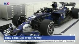 Tímy F1 predstavujú svoje nové monoposty