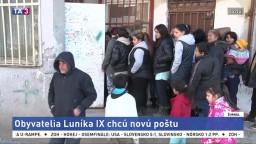 Obyvatelia Luníka sa počas vyplácania dávok nezmestia na poštu