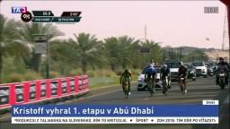 Cavendish z pretekov v Abú Zabí odstúpil, prvú etapu vyhral Kristoff
