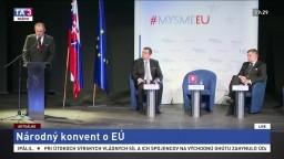 Kiska na konvente hovoril o propagande, Danko o reforme EP