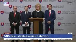 TB poslancov SNS o postoji k Istanbulskému dohovoru
