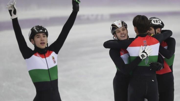 Maďari majú prvé zlato zo zimnej olympiády, získali ho šortrekári