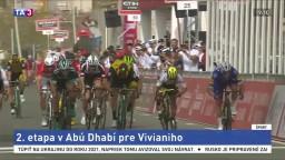 Druhá etapa v Abú Zabí patrila Vivianimu, pretekárov potrápil vietor