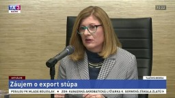 TB ministerstva pôdohospodárstva o rastúcom záujme o export