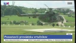 Pozastavili prevádzku vrtuľníkov, záchranné sily ostávajú v pohotovosti
