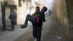 Bezpečnostná rada OSN jednohlasne žiada prímerie v Sýrii