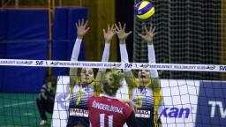 Volejbalistky Strabag porazili Slávistky a upevnili si prvé miesto