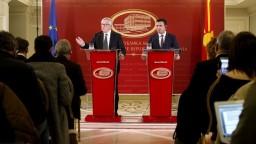 Juncker vyzval Macedónsko na doriešenie sporu s Gréckom