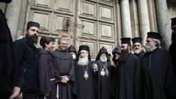Kresťania protestujú proti plánom Izraela, blokujú Kostol Svätého hrobu