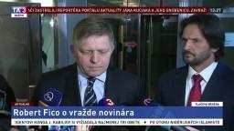 Vyhlásenie R. Fica a R. Kaliňáka o vražde investigatívneho novinára