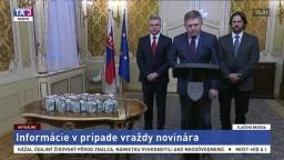 TB R. Fica, R. Kaliňáka a T. Gašpara o vražde Jána Kuciaka