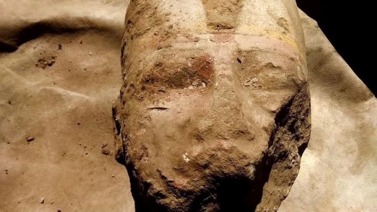 Časti sochy najznámejšieho faraóna našli počas údržbových prác