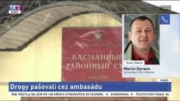 M. Dorazín o pašovaní drog pomocou diplomatickej pošty