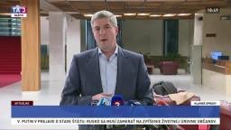 Minister vnútra by mal odstúpiť, vyhlásil Bugár po rokovaní strany