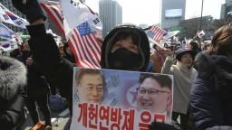 Južná Kórea chce mať v KĽDR zvláštneho vyslanca, informovali Trumpa
