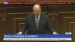 Arménsko si zvolilo prezidenta, podporila ho väčšina poslancov