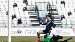 Šporar strelil premiérový gól, zariadil Slovanu postup