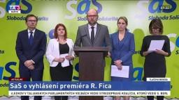 TB SaS o vyhlásení premiéra R. Fica