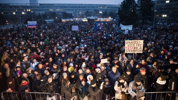 V hlavnom meste bude ďalší veľký pochod za Kuciaka a Kušnírovú