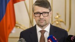 Brífing M. Maďariča po odovzdaní abdikačného listu