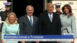 Izraelský premiér rokuje s Trumpom, témou je presťahovanie ambasády