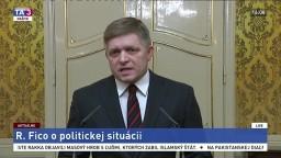 Vyhlásenie predsedu vlády R. Fica o politickej situácii