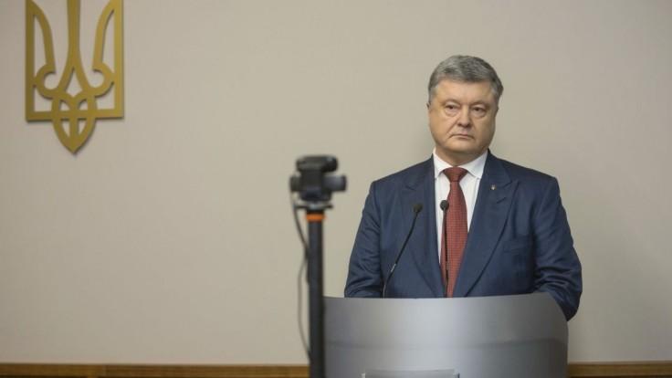 Porošenko chce, aby EÚ neuznala výsledky ruských prezidentských volieb